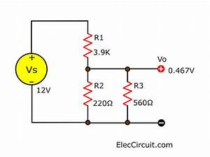 Learn Voltage Divider Circuit Works With Rule And