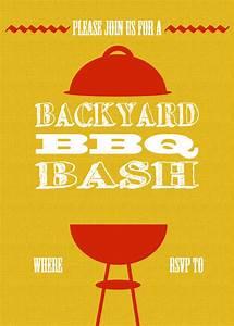 diy printable backyard bbq bash invite With barbecue invite template