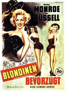 Gentlemen Prefer Blondes | German movie poster, 1953 ...