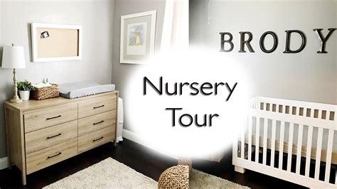 Neutral Baby Boy Nursery