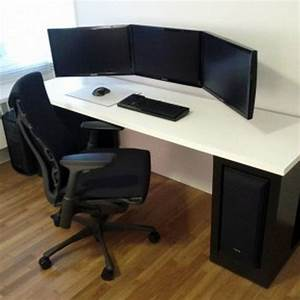 Furniture Modern Computer Desk Ideas Swivelchair Wooden Flooring Cool Computer Desk Design Modern Computer Desk Ideas