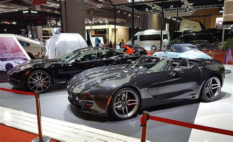 vlf force   roadster revealed   shanghai auto show