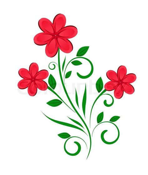 floral design vector floral design abstract flower stock vector colourbox