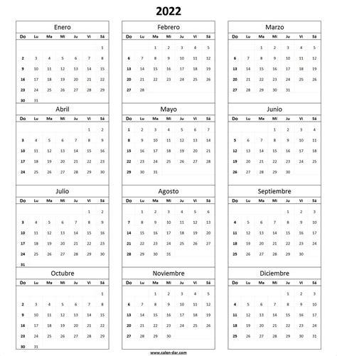 modelo calendario   imprimir spanish calendario