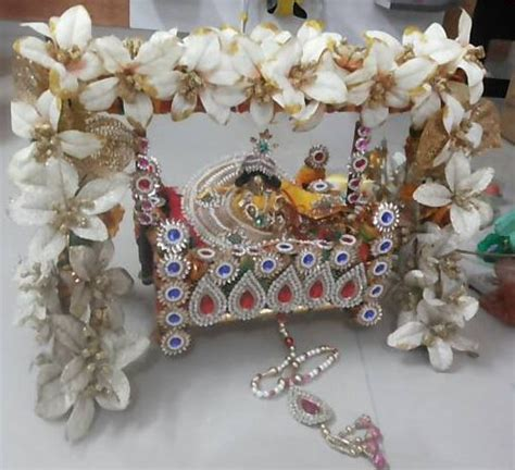 decoration ideas  krishna janmashtami pooja room