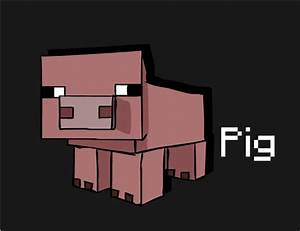 Minecraft Pig by EmeraldTuna on DeviantArt