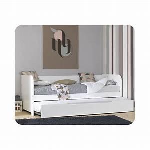 Lit Gigogne La Redoute : lit gigogne bali 80 x 200 cm ma chambre d 39 enfant la ~ Melissatoandfro.com Idées de Décoration