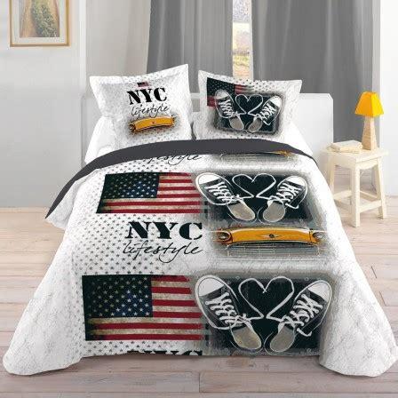 chambre garcon complete housse de couette ado adolescent linge de lit housse