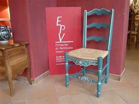 chaise paillée chaise provençale louis xiv laffanour