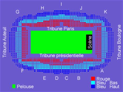 plan parc des princes rang johnny hallyday le web site sur johnny hallyday le site d information sur johnny hallyday