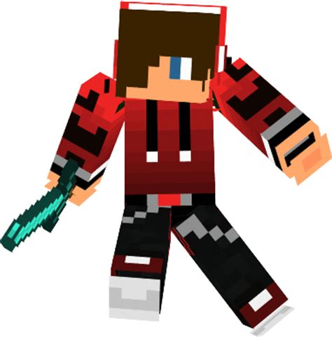 minecraft awesome skin  banner