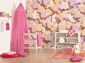 Tapeten Für Kinderzimmer Mädchen : tapeten f r kinderzimmer ideen von den kleinen ~ Michelbontemps.com Haus und Dekorationen