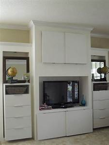 built-in, entertainment, center, -, ikea, hackers
