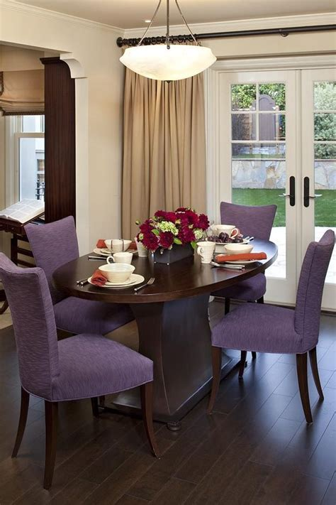 contemporary upholstered dining chairs dining room