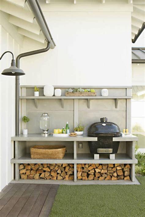 amenagement coin cuisine barbecue moderne et idées de cuisine extérieure pour l 39 été