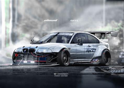 Bmw Drifting by Wallpaper Race Cars Render Artwork Drifting Sports