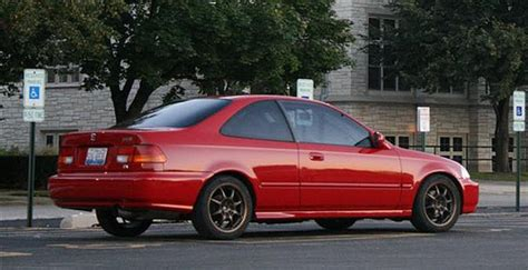Ky 96 Civic Ex Coupe Milano Red *built*low Miles*street