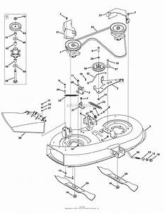 Mtd 13ac762f020  2010  Parts Diagram For Mower Deck 38