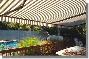 Hot Tub Retractable Awning