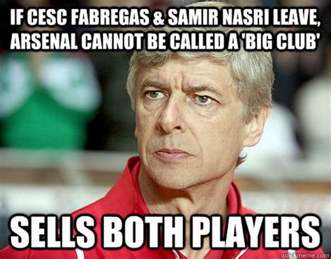 Arsene Wenger Meme - best football memes around the net what happens in football