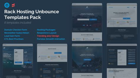 unbounce templates rack hosting unbounce landing page templates bundle pack by rightthemes