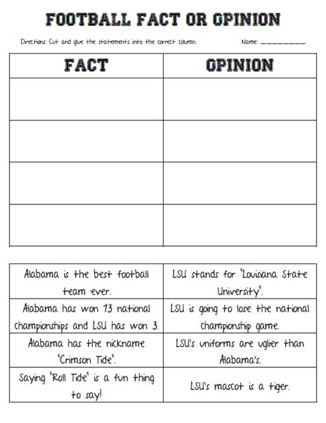fact and opinion graphic organizer 2nd grade dots n