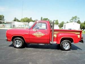 Buy Used 1979 Dodge D150 Lil U0026 39  Red Express Pickup Truck