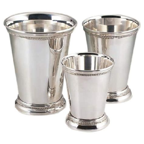 silver plated mint julep cups silver plated mint julep cup white manufacturer 7938
