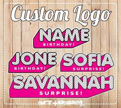 custom logo    digital item products lol
