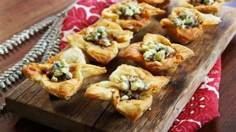 filo pastry cases canapes whaite s poached pear filo canap 233 s recipes food network uk