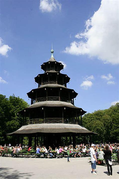 englischer garten münchen chinesischer turm parken traveling to germany m 252 nchen family net guide to