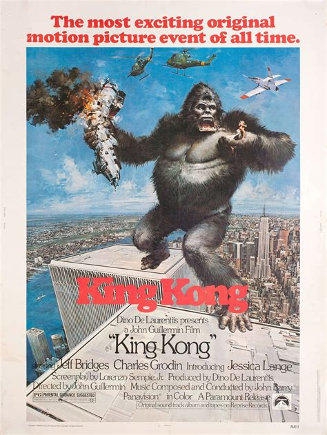 King kong (2013), an australian musical based on the original film using the largest puppet ever created for the stage. King Kong 1976 U.S. 30 by 40 Poster | Posteritati Movie ...
