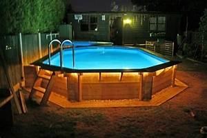 27 idees de piscine hors sol pour votre jardin magnifique With terrasse bois avec piscine 9 habillage piscine autoporte intex piscines plages