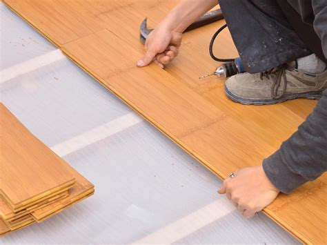 installing bamboo flooring on concrete how to install bamboo floors on concrete gurus floor