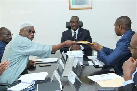 les chambres consulaires artisanat et pme le ministre souleymane diarrassouba a