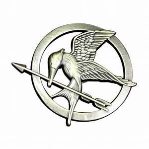 The Hunger Games Mockingjay Pin | A Mighty Girl