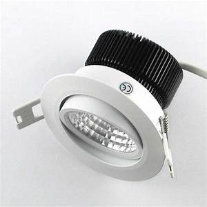 Mini Spot Led Encastrable : spot led cob encastrable 7w 230v ~ Dode.kayakingforconservation.com Idées de Décoration