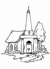 Church Coloring Pages Building Country Drawing Lds Printable Sheets 3d Sketch Getcolorings Seven Getdrawings Tocolor Template sketch template