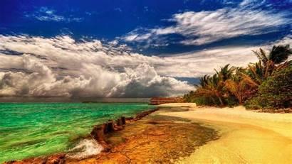 Summer Wallpapers Beach Vacation Season Screensavers Kick