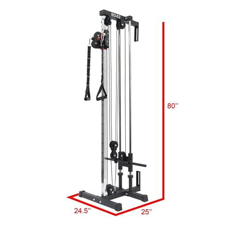 valor fitness bd  wall mount cable station
