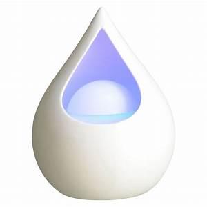Diffuseur D Ambiance : humidificateur et diffuseur d huiles essentielles en forme de goutte d 39 eau sur logeekdesign ~ Teatrodelosmanantiales.com Idées de Décoration