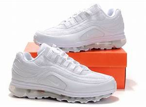 Nike Air Max 24-7 Mens Shoes - All White::Nike Running Shoes