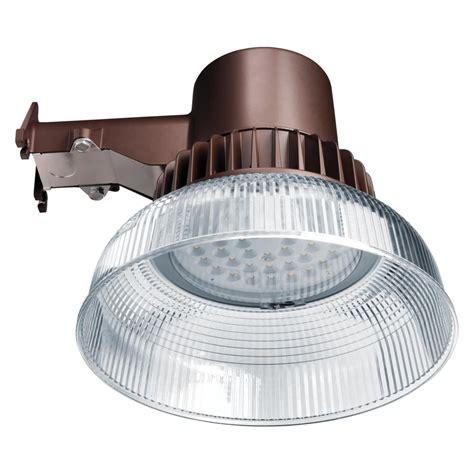 integrated led outdoor lighting honeywell 45 watt remington bronze outdoor integrated led