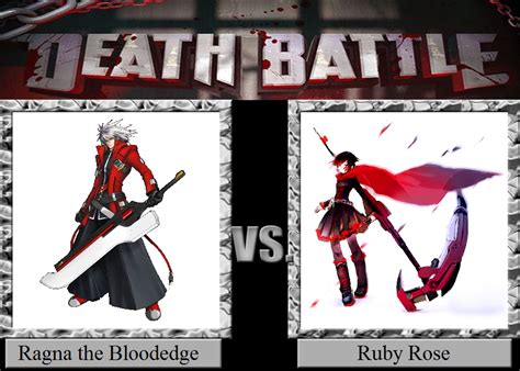 ruby rose vs ragna ragna the bloodedge vs ruby rose by jasonpictures on