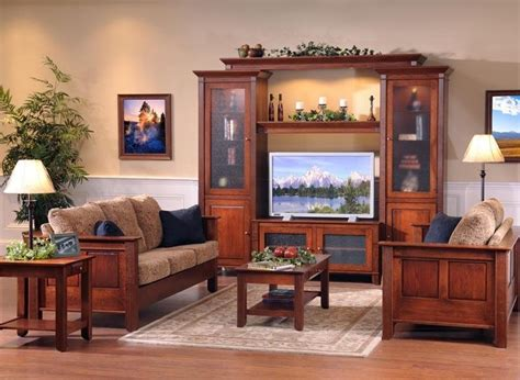 entertainment center for living room amish solid wood entertainment centers and corner tv