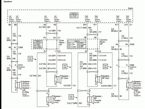 chevy silverado stereo wiring diagram wiring forums