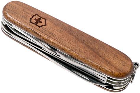 schweizer taschenmesser holz victorinox huntsman schweizer taschenmesser holz 1 3711 63 g 252 nstiger shoppen bei
