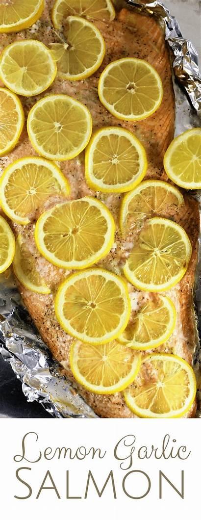 Salmon Garlic Lemon Recipes Simplymaderecipes Recipe Dinner