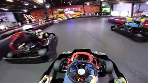 Super Fast Indoor Go Kart Racing