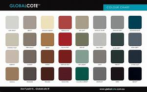 Roof Paint Colour Chart Be Inspired With Colour Globalcote Paint Manufacturer